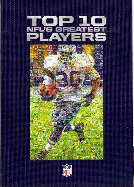 NFL TOP 10:NFL'S GREATEST PLAYERS (DVD)